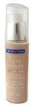 Seventeen Natural Velvet Longlasting Matte Foundation дъготраен фон дьо тен за лице
