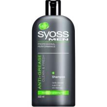 Syoss Men Clean & Fresh шампоан против омазняване за мъже