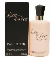 Valentino Rock'n Rose душ гел за жени