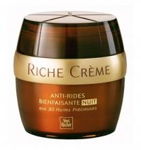 Yves Rocher  Riche creme anti-rides nuit нощен крем против бръчки за лице