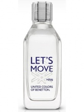Benetton Let's Move EDT тоалетна вода за мъже без опаковка