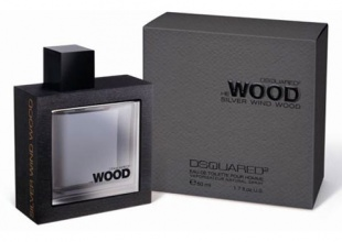 Dsquared² He Wood Silver Wind EDT тоалетна вода за мъже без опаковка