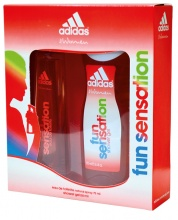 Adidas Fun Sensation EDT 75мл + душ гел 250мл