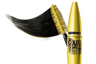 Maybelline Volum' Express Colossal 100% Black ултра черни мигли спирала за очи