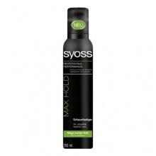 Syoss Max Hold мега силна фиксация пяна за коса
