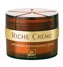 Yves Rocher  Riche creme anti-rides yeux крем против бръчки за околоочи 50мл