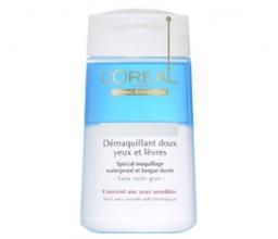 L`ORéAL Demaquillant Doux почистващ лосион за очи и устни за водоустойчив грим
