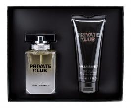 Karl Lagerfeld Private Klub мъжки комплект EDT 50мл + душ гел 100мл