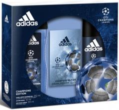 Adidas комплект за мъже афтършейв 50мл + душ гел 250мл + дезодорант 150мл