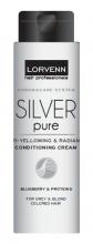 Lorvenn Silver Pure балсам против жълти отенъци на косата