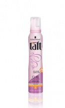 Taft Curl за къдрици пяна за коса