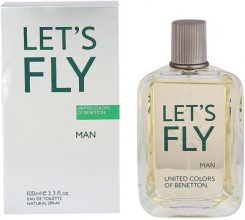 Benetton Let's Fly EDT тоалетна вода за мъже