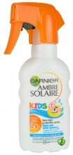 Garnier Ambre Solaire Kids SPF50 слънцезащитен спрей за деца