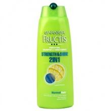 Garnier Fructis Strength & Shine 2 in 1 шампоан с балсам за нормална коса