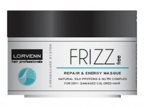 Lorvenn Frizz Control възстановяваща маска за къдрици