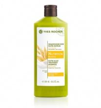 Yves Rocher Botanical Hair Care Nutri-Silky Treatment подхранващ шампоан за коса с овес