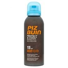Piz Buin Protect & Cool SPF15 освежаваща слънцезащитна пяна