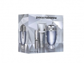 Paco Rabanne Invictus EDT 100мл + EDT 10мл + душ гел 100мл