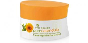 Yves Rocher  Pure calendula creme regeneratrice регенериращ крем за лице ден/нощ