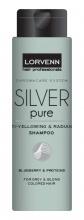 Lorvenn Silver Pure шампоан против жълти отенъци на косата