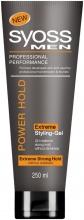 Syoss Men Power Hold Extreme екстремно стилизиране гел за коса за мъже