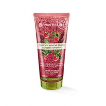 Yves Rocher Raspberry Pepermint Energizing ексфолиращ душ гел