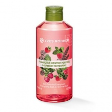 Yves Rocher Raspberry Pepermint Energizing душ гел