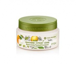 Yves Rocher Mandarine Citron Cedre Energising Body Cream крем за тяло
