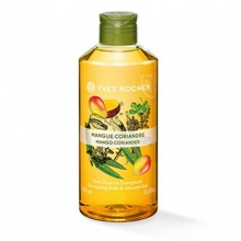 Yves Rocher Mango Coriander Energizing душ гел