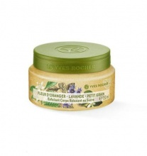 Yves Rocher Orange Blossom Lavender Petitgrain Relaxing Sugar Body Scrub скраб за тяло