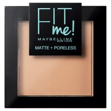 MAYBELLINE ПУДРА ЗА ЛИЦЕ FIT ME MATTE 120 CLASSIC IVORY
