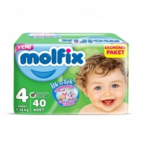 MOLFIX ПАМПЕРС 7-14КГ 60БР