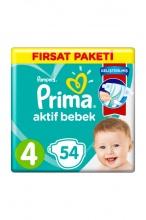 PRIMA 4 ПАМПЕРС 9-14КГ 54БР