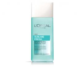 L`Oréal Sublime Fresh почистващ тоник за лице