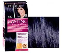 L'oreal Casting Creme Gloss боя за коса, Вариант: 210 синьо черен