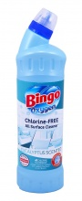 BINGO WC OXYGEN EUCALYPTUS SCENTED/FRESHNES 750МЛ