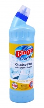 BINGO WC OXYGEN LEMON SCENTED/SPLASH 750МЛ