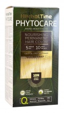 HERBAL TIME PHYTOCARE БОЯ ЗА КОСА -10N ЯРКО РУС