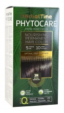 HERBAL TIME PHYTOCARE БОЯ ЗА КОСА -3N ГОРЧИВ ШОКОЛАД