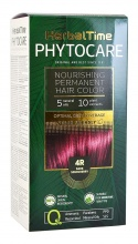 HERBAL TIME PHYTOCARE БОЯ ЗА КОСА -4R ТЪМНА ВИШНА