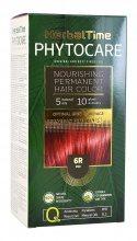 HERBAL TIME PHYTOCARE БОЯ ЗА КОСА -6R ЧЕРВЕН