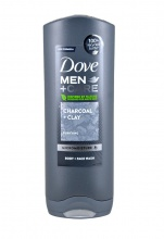 DOVE ДУШ ГЕЛ MEN CHARCOAL + CLAY 250МЛ