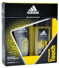 Adidas душ гел 250мл + натурален спрей 75мл