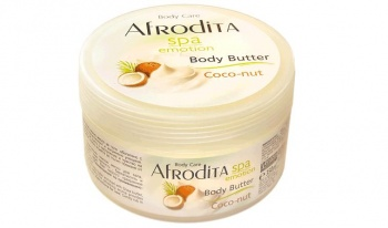AFRODITA МАСЛО ЗА ТЯЛО COCONUT SPA EMOTION BODY BUTTER КОКОС 350МЛ