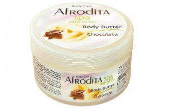 AFRODITA МАСЛО ЗА ТЯЛО CHOCOLATE SPA EMOTION BODY BUTTER ШОКОЛАД 350МЛ