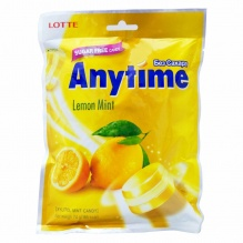 ANYTIME БОНБОНИ LEMON MINT 74ГР