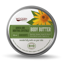 Wooden Spoon Arnica & Mentol Crystals Body Butter крем за тяло