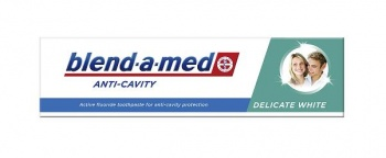 BLEND-A-MED ПАСТА ЗА ЗЪБИ ANTY-CAVITY DELICATE WHITE 100МЛ