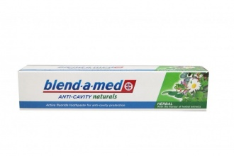 BLEND-A-MED ПАСТА ЗА ЗЪБИ ANTY-CAVITY NATURALS 50МЛ