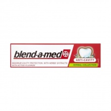 BLEND-A-MED ПАСТА ЗА ЗЪБИ ANTI-CAVITY HERBAL COLLECTION 100МЛ